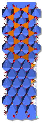 [photo: Antigorite structure]